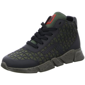 Red Rag Sneaker High schwarz
