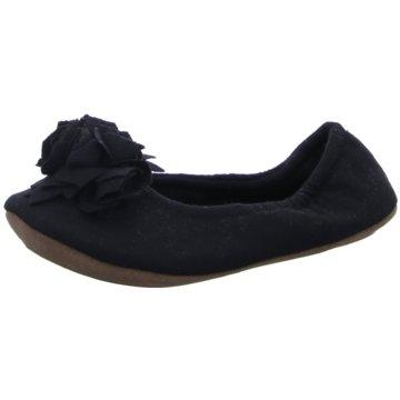 Pampuschen Faltbarer Ballerina schwarz