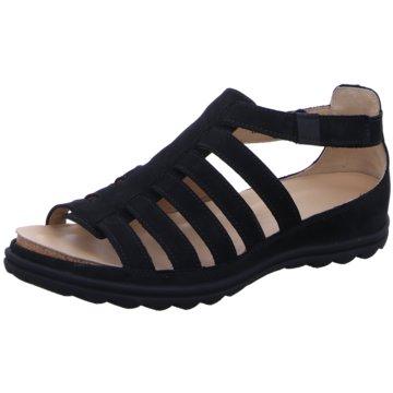 Hartjes Komfort Sandale schwarz