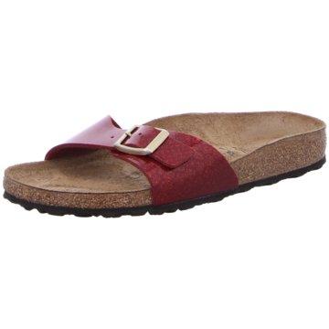 Birkenstock Klassische PantoletteMadrid rot