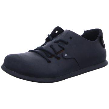 Birkenstock Komfort Schnürschuh schwarz