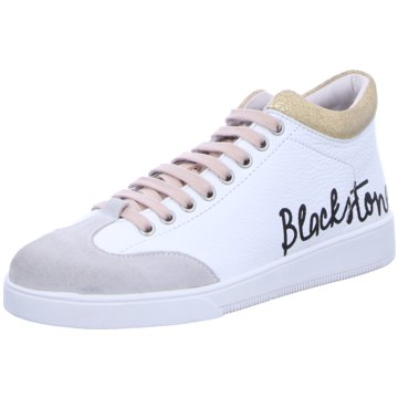Blackstone Sneaker High weiß