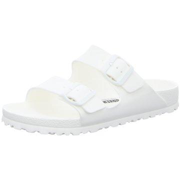 Birkenstock Klassische Pantolette weiß