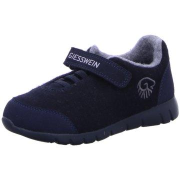 Giesswein KlettschuhMerino Wool Runner blau