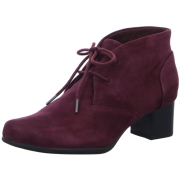 Clarks Ankle Boot lila