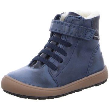 Bundgaard Halbhoher Stiefel blau