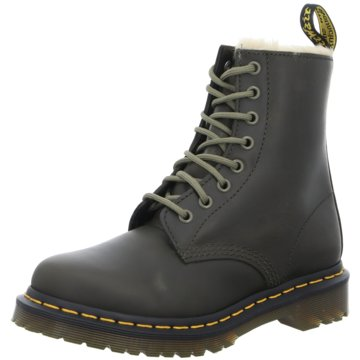 Dr. Martens Airwair Winter Secrets oliv