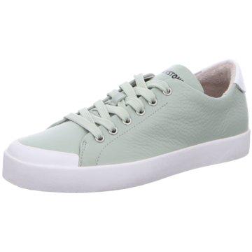 Blackstone Komfort Schnürschuh grün
