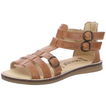 Däumling Offene Schuhe braun