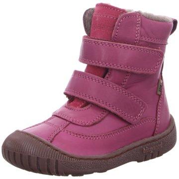 Bisgaard Klettstiefel pink