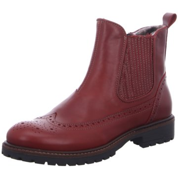 Momino Halbhoher Stiefel rot