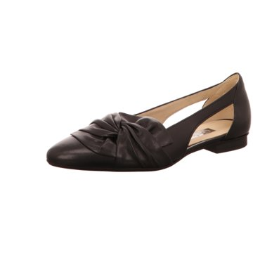 Gabor Riemchen Ballerina schwarz
