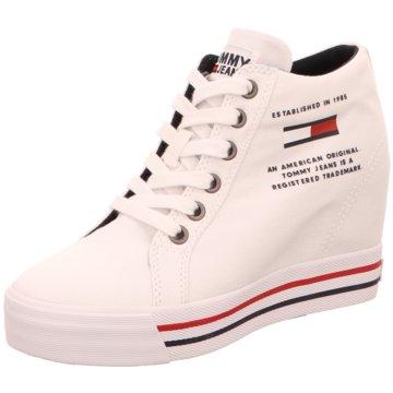 Tommy Hilfiger Sneaker Wedges weiß