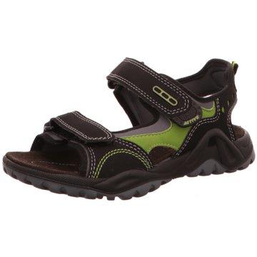 carrera panamericana Offene Schuhe schwarz