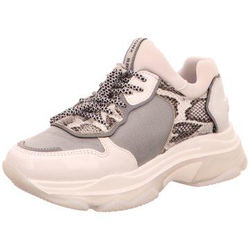 Bronx Plateau Sneaker weiß
