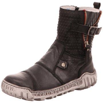 KRISBUT Komfort Stiefel schwarz