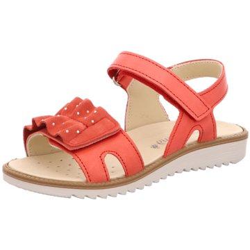 Sommerkind Offene Schuhe rot