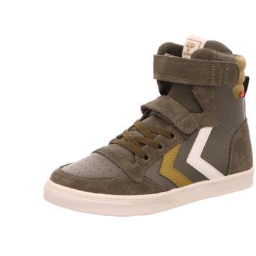 Hummel Sneaker High grün