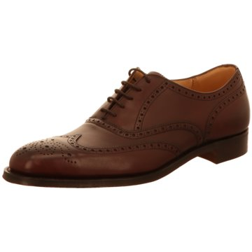 Joseph Cheaney & Sons Business Schnürschuh rot