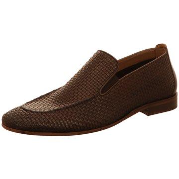 Morandi Klassischer Slipper braun