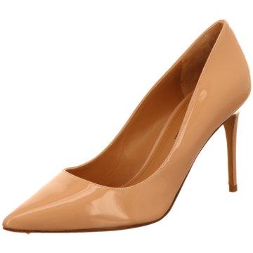 Pura Lopez Top Trends High Heels beige