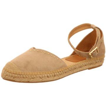 Capiccio Espadrilles Sandalen beige