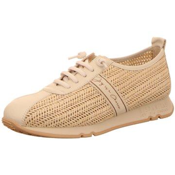 Hispanitas Komfort Schnürschuh beige