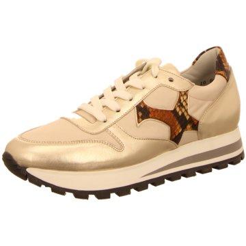 Peter Kaiser Plateau Sneaker gold