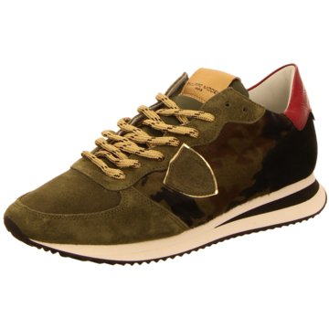 Philippe Model Sneaker Low oliv