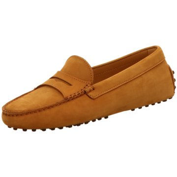 Confort Shoes Mokassin Slipper braun