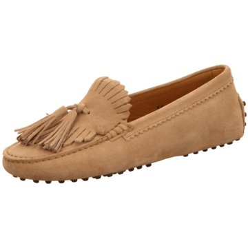 Confort Shoes Mokassin Slipper beige