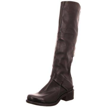 A.S.98 Klassischer Stiefel schwarz