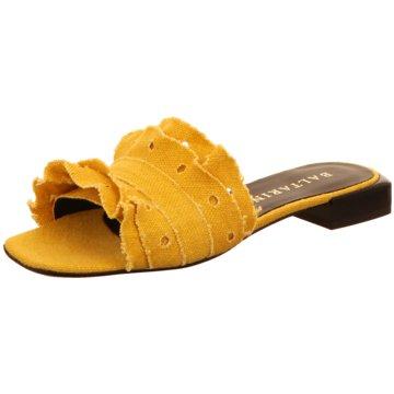 BLT BALTARINI Klassische Pantolette gelb