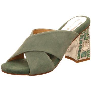 Vizgar Klassische Pantolette grün