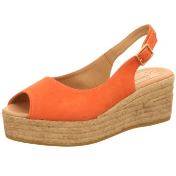 Gaimo Espadrilles Sandalen orange