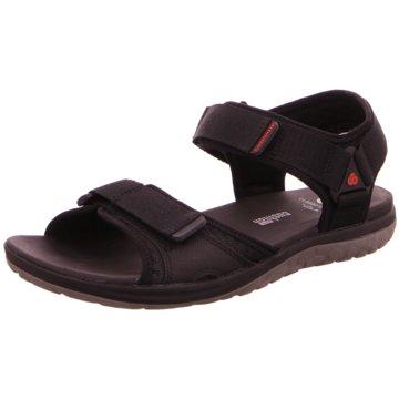 Clarks Sandale schwarz