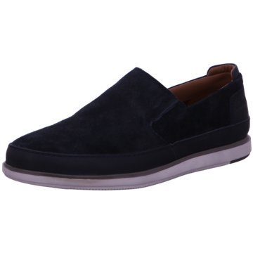 Clarks Klassischer SlipperBratton Step blau