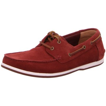 Clarks Bootsschuh rot