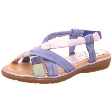 Marila Komfort Sandale blau