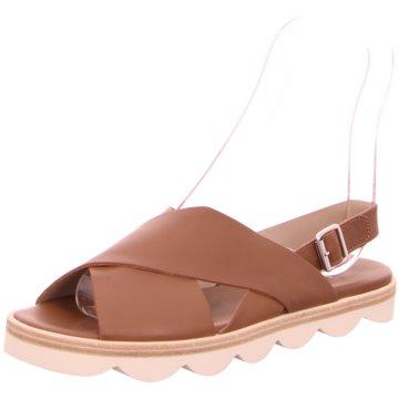 La Cabala Sandale braun