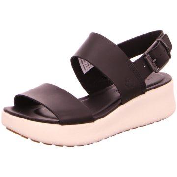 Timberland Komfort Sandale schwarz