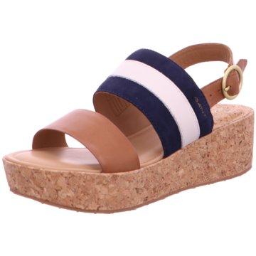Gant Plateau SandaletteLinda Sneaker braun
