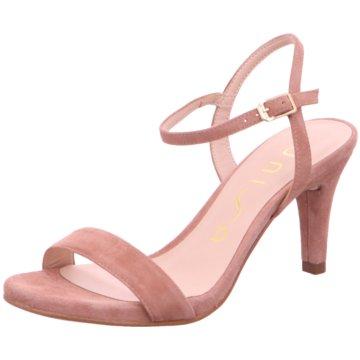 Unisa Modische Sandaletten rosa