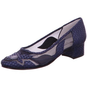 Blubella Flacher Pumps blau