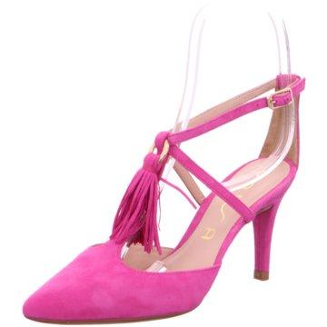 Unisa Riemchenpumps pink