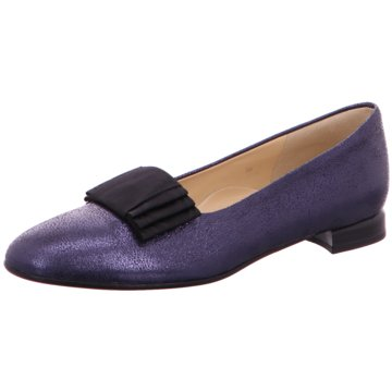 Brunate Flacher Pumps blau