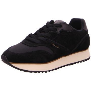 Gant Sportlicher Schnürschuh schwarz