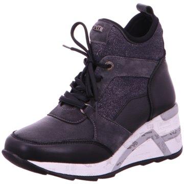 Cetti Sneaker Wedges schwarz