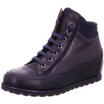 Candice Cooper Sneaker Wedges blau