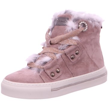 Alpe Woman Shoes Sneaker High rosa